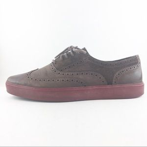 Cole Haan Brown Leather Red Sole Shoes Mens 11